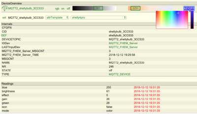 MQTT2-Module - Praxisbeispiele – FHEMWiki